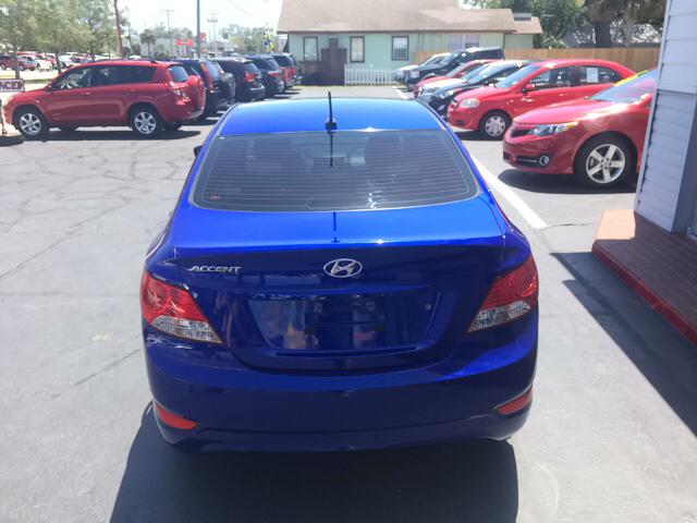 2013 Hyundai Accent GLS 4dr Sedan - Daytona Beach FL