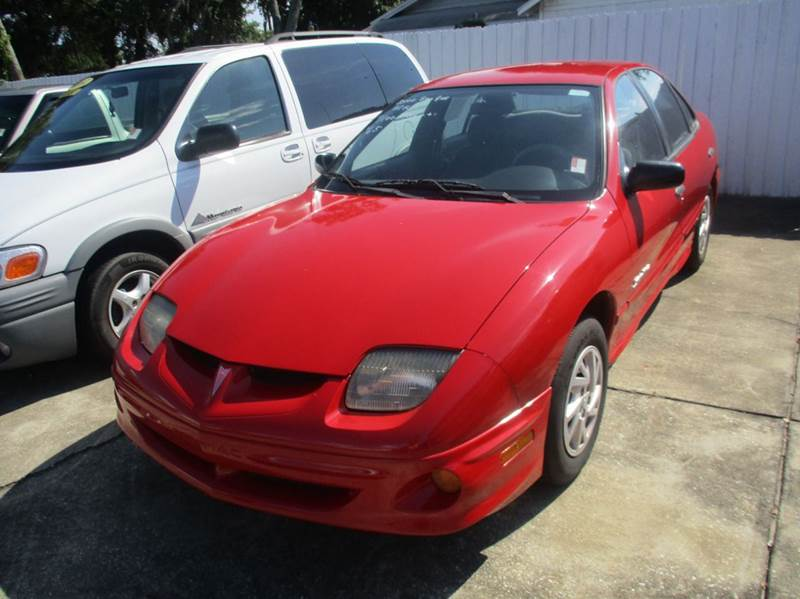 2000 pontiac sunfire se 4dr sedan in daytona beach fl. Black Bedroom Furniture Sets. Home Design Ideas