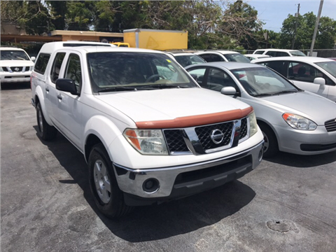 2007 Nissan Frontier for sale in Miami, FL