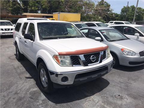 2007 Nissan Frontier for sale in Miami, FL
