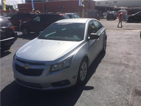 2012 Chevrolet Cruze for sale in Miami FL