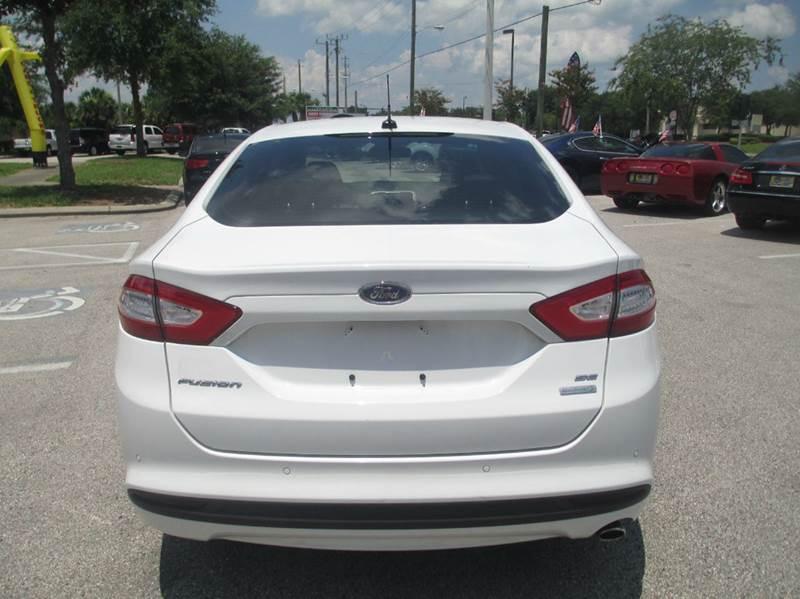 2014 Ford Fusion SE 4dr Sedan - Sanford FL