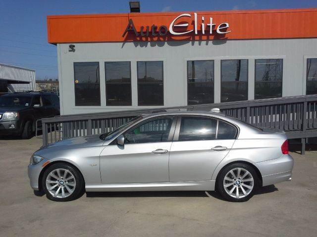 2011 BMW 3 SERIES 328I silver low miles leather interior sunroof power seats premium audio sys