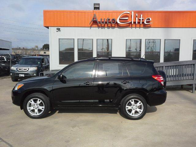 2012 TOYOTA RAV4 BASE I4 2WD black i-pod connectivity hands free phone power windows great fuel