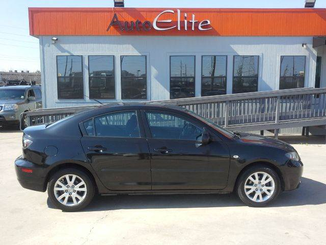 2008 MAZDA MAZDA3 I SPORT 4-DOOR black mica fuel efficient 4 cylinder engine power windows power