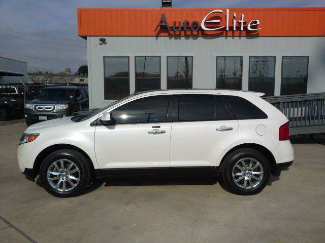 2011 FORD EDGE SEL AWD whitr leather interior chrome alloy wheels power windows power door lock