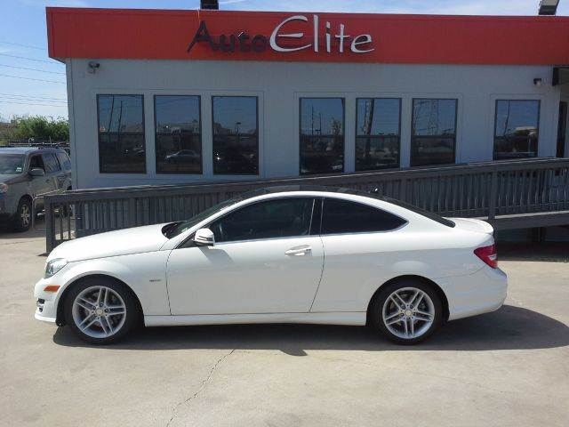 2012 MERCEDES-BENZ C-CLASS C350 COUPE white beautiful luxury sport coupe loaded with everything n
