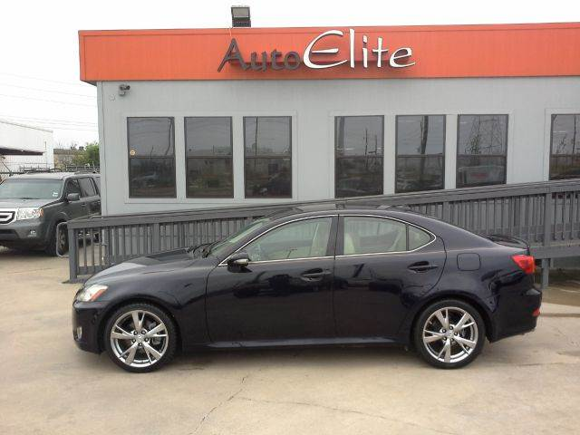 2009 LEXUS IS 250 IS 250 6-SPEED SEQUENTIAL breakwater blue metallic great performance luxury car