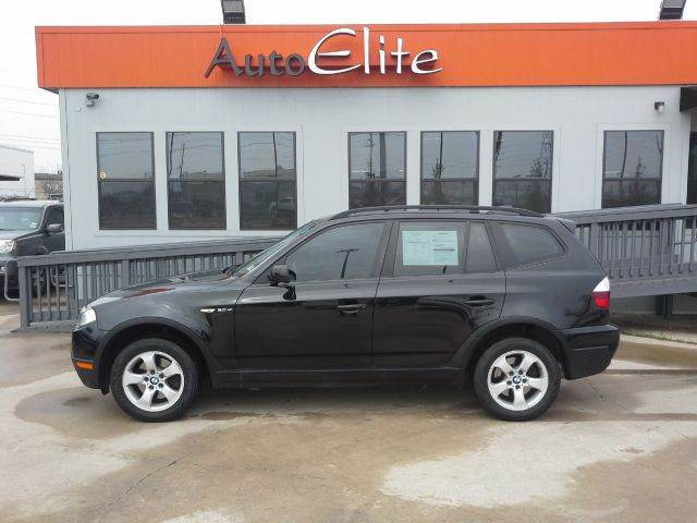 2007 BMW X3 30SI black sapphire metallic leather interior sunroof power seatspower door locks