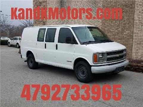 1999 Chevrolet Express Cargo for sale in Bentonville, AR