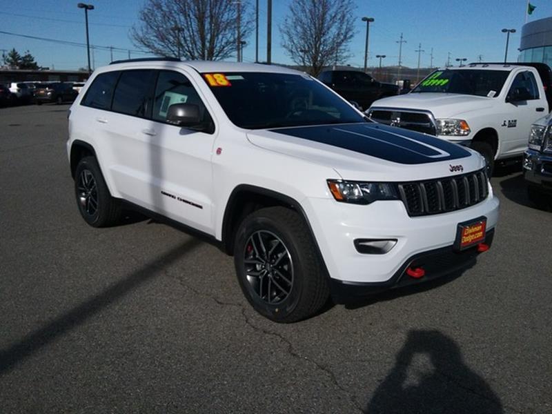 2018 Jeep Grand Cherokee For Sale In Spokane WA