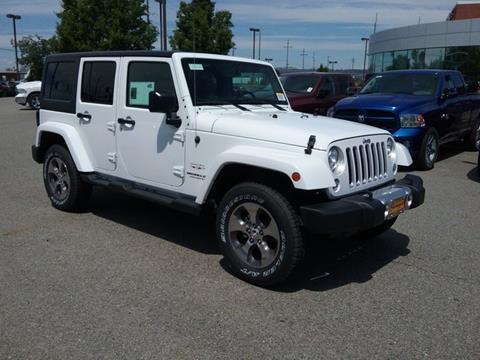 2017 Jeep Wrangler Unlimited for sale in Spokane, WA