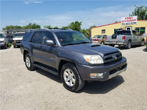 2004 Toyota 4Runner for sale in Houston, TX
