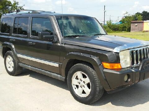 jeep commander for sale houston tx. Black Bedroom Furniture Sets. Home Design Ideas