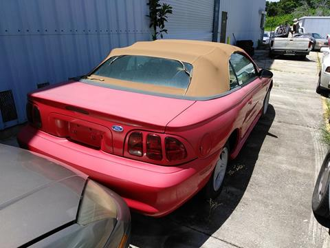 1996 Ford Mustang for sale in Sarasota, FL
