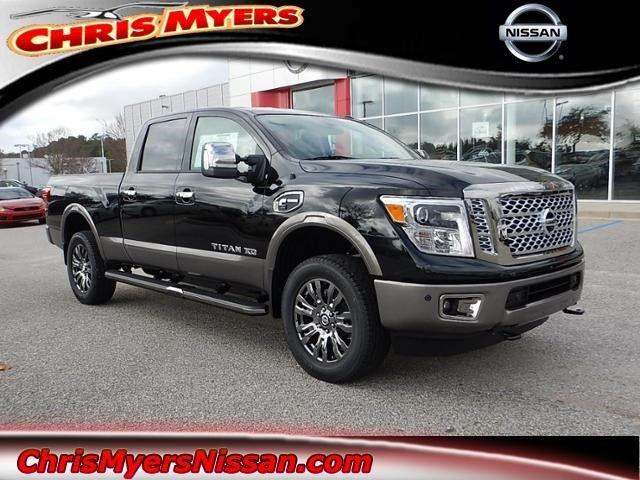 2017 nissan titan xd 4x4 platinum reserve 4dr crew cab diesel in daphne al chris myers nissan. Black Bedroom Furniture Sets. Home Design Ideas