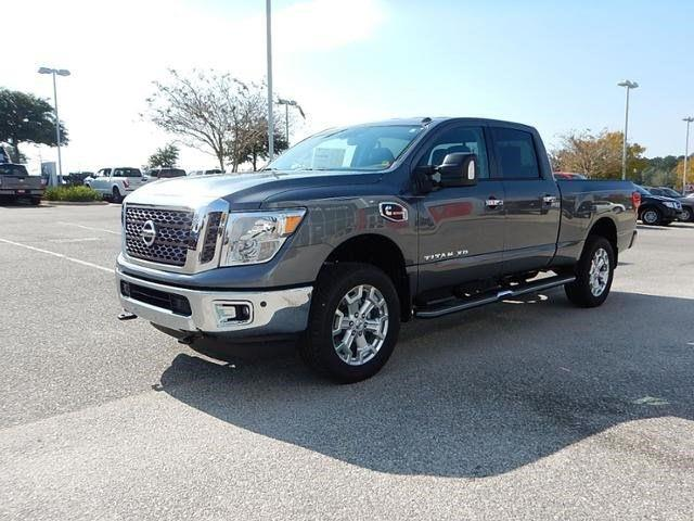 2017 nissan titan xd 4x4 sv 4dr crew cab diesel in daphne al chris myers nissan. Black Bedroom Furniture Sets. Home Design Ideas