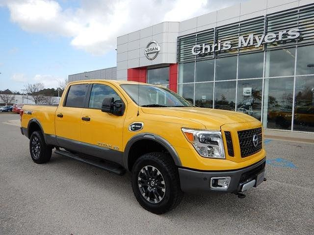 2016 nissan titan xd pro 4x diesel in daphne al chris myers nissan. Black Bedroom Furniture Sets. Home Design Ideas
