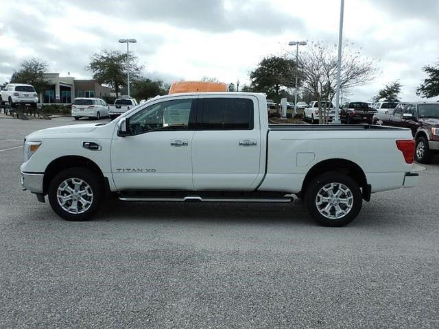 2017 nissan titan xd 4x4 sl 4dr crew cab diesel in daphne al chris myers nissan. Black Bedroom Furniture Sets. Home Design Ideas