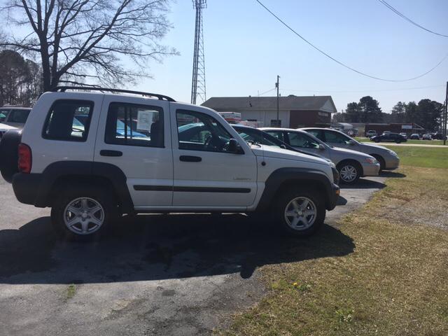 2004 Jeep Liberty Sport 4dr 4WD SUV - Farmville NC