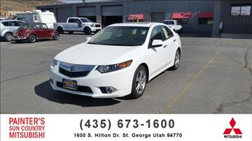 2013 Acura TSX for sale in St George, UT