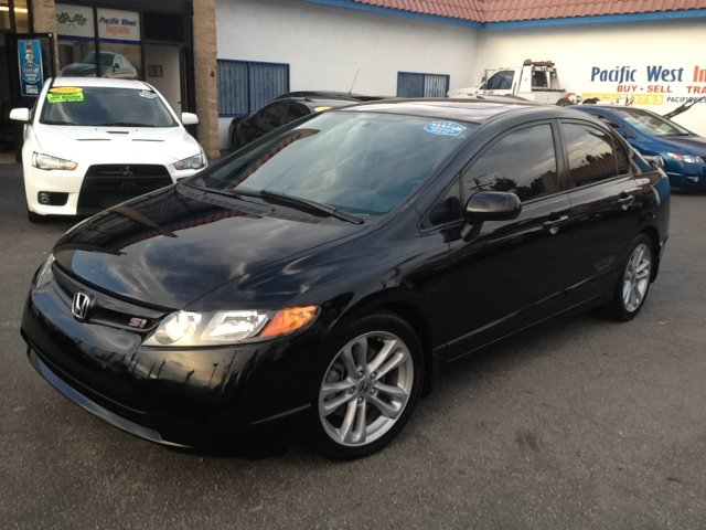 2007 honda civic si 4dr sedan in los angeles ca pacific. Black Bedroom Furniture Sets. Home Design Ideas
