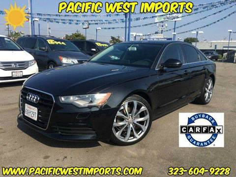 2013 Audi A6 for sale in Los Angeles, CA