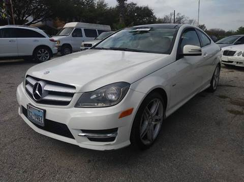 2012 Mercedes-Benz C-Class for sale in San Antonio, TX