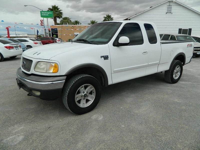2002 Ford F-150 4dr SuperCab King Ranch 4WD Styleside SB - Overton NV