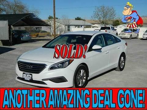 2016 Hyundai Sonata for sale in Overton, NV