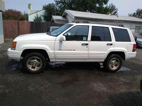 1998 Jeep Grand Cherokee For Sale In Sacramento, CA