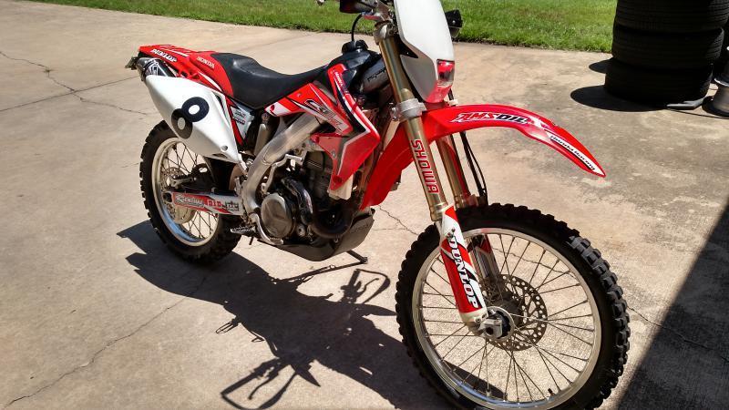 2005 Honda 450X