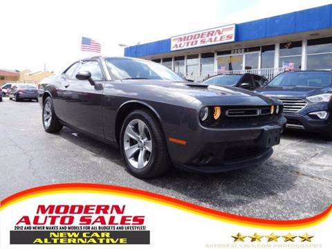 Used Dodge Challenger For Sale Hollywood Fl