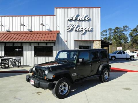 2011 Jeep Wrangler Unlimited for sale in Lumberton, TX