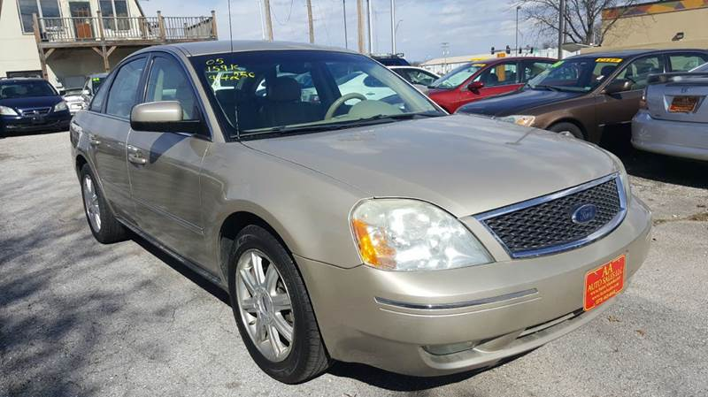 2005 ford five hundred sel 4dr sedan in columbia mo aa auto sales llc. Black Bedroom Furniture Sets. Home Design Ideas