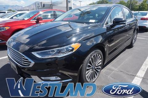 2017 Ford Fusion for sale in Ogden, UT