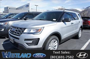 2017 Ford Explorer for sale in Ogden, UT