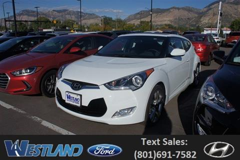 2017 Hyundai Veloster for sale in Ogden, UT