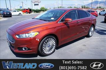 2014 Ford Fusion for sale in Ogden, UT