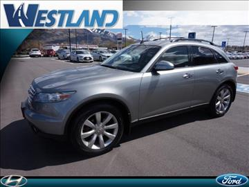 2005 Infiniti FX35 for sale in Ogden, UT