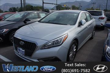 2017 Hyundai Sonata Hybrid for sale in Ogden, UT
