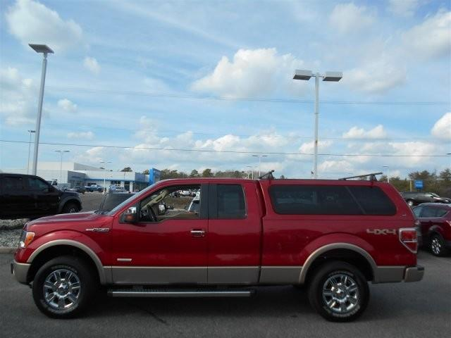 2012 Ford F-150 4x4 Lariat 4dr SuperCab Styleside 6.5 ft. SB - Woodbine NJ
