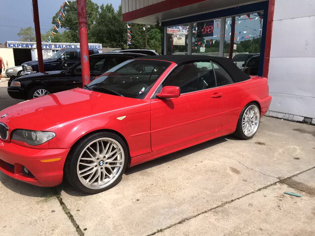 2005 BMW 3 SERIES 325CI 2DR CONVERTIBLE red abs - 4-wheel center console - front console with sto