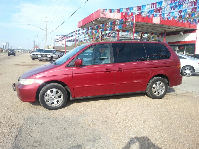 2003 HONDA ODYSSEY EX W LEATHER maroon we are located at 1402 florida blvd denham springs la 707