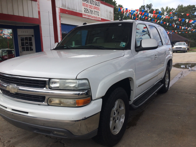 2004 CHEVROLET TAHOE LT 4DR SUV white abs - 4-wheel adjustable pedals - power anti-theft system