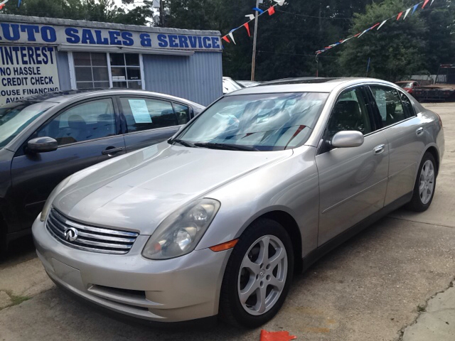 2003 INFINITI G35 BASE LUXURY 4DR SEDAN WLEATHER champaigne abs - 4-wheel aluminum accents anti
