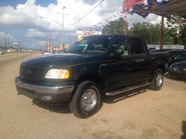 2003 FORD F-150 LARIAT 4DR SUPERCREW 4WD STYLESI unspecified abs - 4-wheel adjustable pedals - po