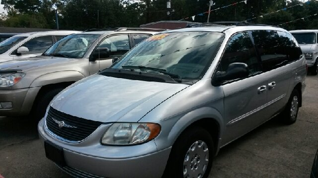 2003 CHRYSLER TOWN AND COUNTRY LX FAMILY VALUE 4DR MINIVAN silver abs - 4-wheel cassette center