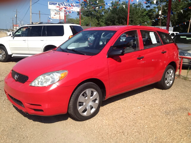 2003 TOYOTA MATRIX BASE FWD 4DR WAGON red center console clock daytime running lights front air