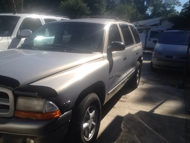 2000 DODGE DURANGO SLT 4DR SUV silver abs - rear-only axle ratio - 355 cassette center console